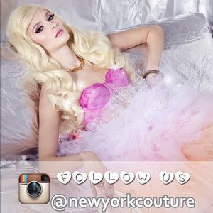 New York Couture Dresses - New York Couture Sheer Babydoll Dress